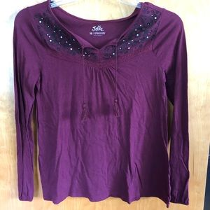 Girls Justice Long Sleeve Shirt Size 16